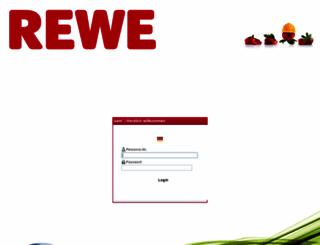 sam.rewe-dortmund.de screenshot