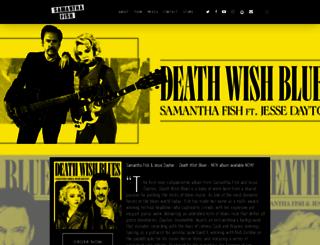 samanthafish.com screenshot