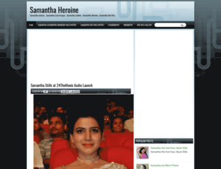 samanthaheroine.blogspot.in screenshot