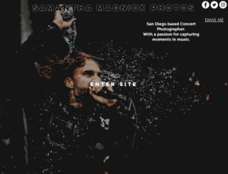 samanthaphotos.com screenshot