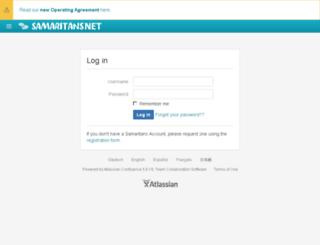 samaritansnet.org screenshot