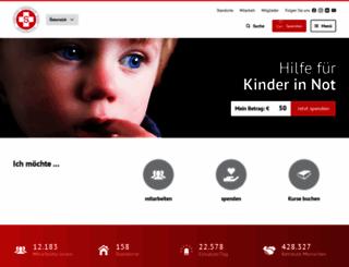 samariterbund.net screenshot