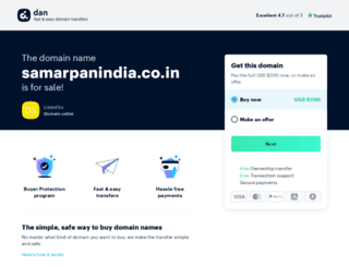 samarpanindia.co.in screenshot