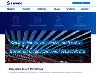 samato.hu screenshot