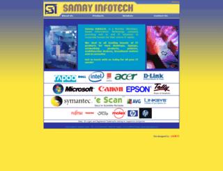 samayinfotech.in screenshot