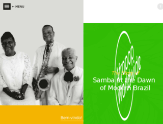 samba.afropop.org screenshot