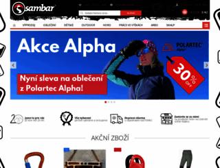 sambarsport.cz screenshot