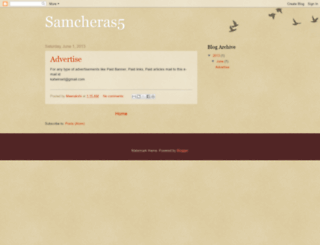 samcheras5.blogspot.co.uk screenshot