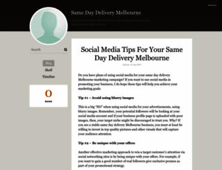 samedaydeliverymelbourne.booklikes.com screenshot