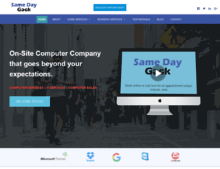 samedaygeek.com screenshot