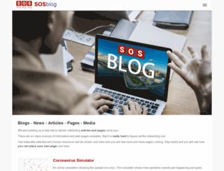 samedayloans.sosblog.com screenshot