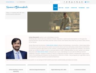 sameerbhanushali.com screenshot
