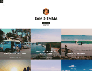 samemma.exposure.co screenshot