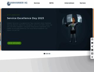 samhammer.de screenshot