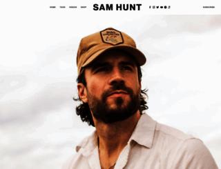 samhunt.com screenshot