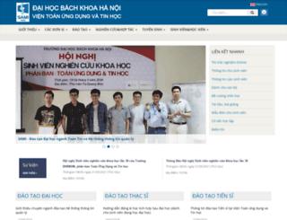 sami.hust.edu.vn screenshot