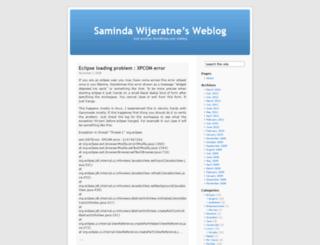 samindaw.wordpress.com screenshot