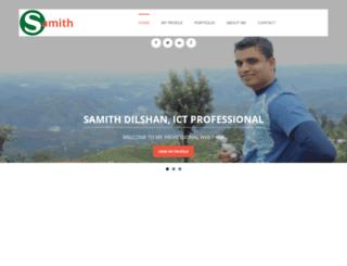 samithdilshan.com screenshot