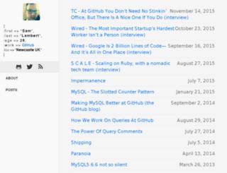 samlambert.com screenshot
