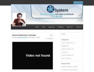 samleonardblog.com screenshot