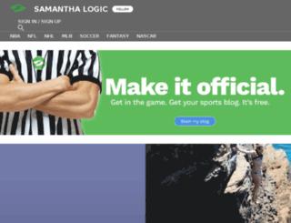 samlogic.sportsblog.com screenshot