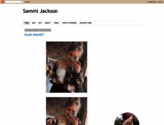 sammi-jackson.com screenshot