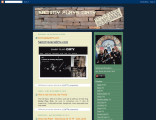 sammyplaysdirty.blogspot.com screenshot