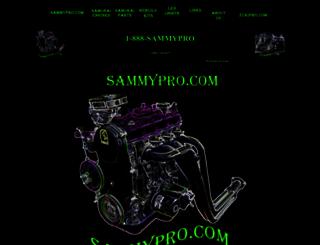 sammypro.com screenshot
