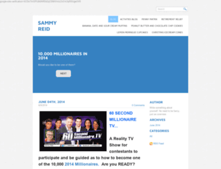 sammyreid.com screenshot