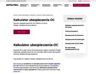 samochod.swiatubezpieczen.com screenshot