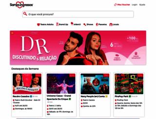 sampaingressos.com.br screenshot