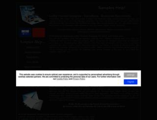samples-help.org.uk screenshot