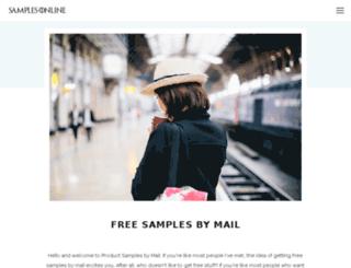 samples-online.info screenshot