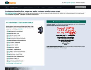 sampleswap.org screenshot