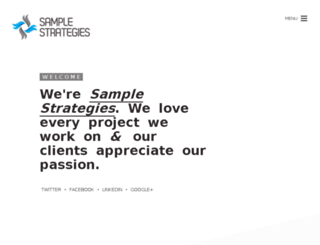 sampstrategies.com screenshot