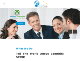 samridhigroup.com screenshot