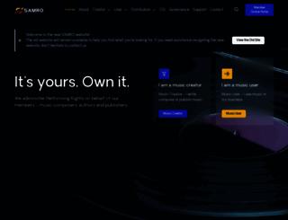 samro.org.za screenshot