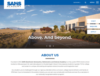 samsacademy.com screenshot