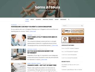 samsatlouis.com screenshot