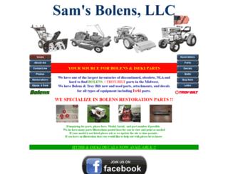 samsbolens.com screenshot