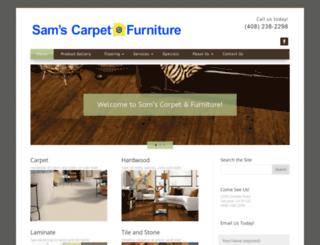 samscarpetfurniture.com screenshot