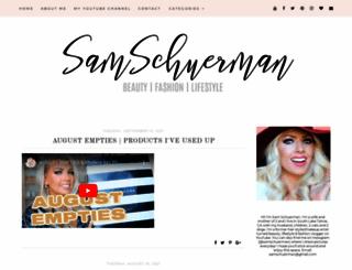 samschuerman.com screenshot