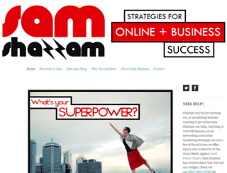 samshazzam.com screenshot