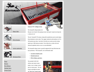 samsoncnc.com screenshot