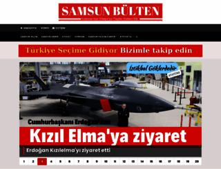 samsunbulten.com screenshot