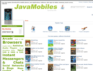 samsung-b5722.java-mobiles.net screenshot
