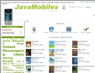 samsung-c3312.java-mobiles.net screenshot