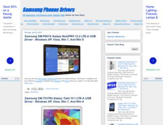 samsung-phones-drivers.blogspot.com.au screenshot