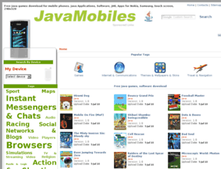 samsung-s5530-monte.java-mobiles.net screenshot