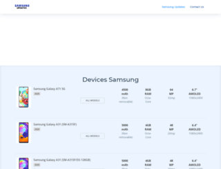 samsung-updates.com screenshot